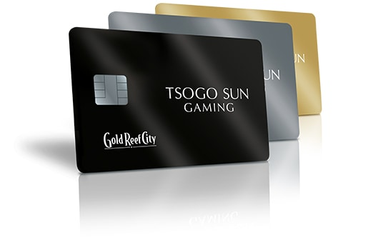 Tsogo Sun Gaming Rewards Cards