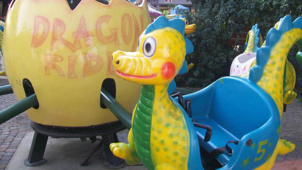 Dragon Ride at Gold Reef City
