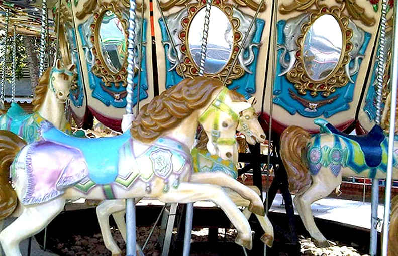 Gold Reef City Theme Park Carousel