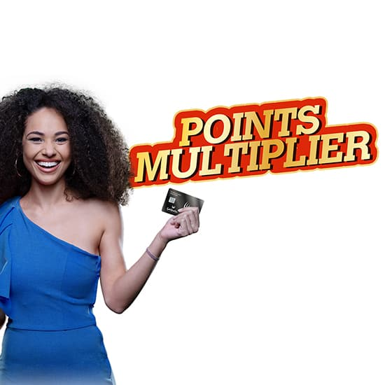 Gold Reef City Casino Gaming Promotion, Points Multiplier
