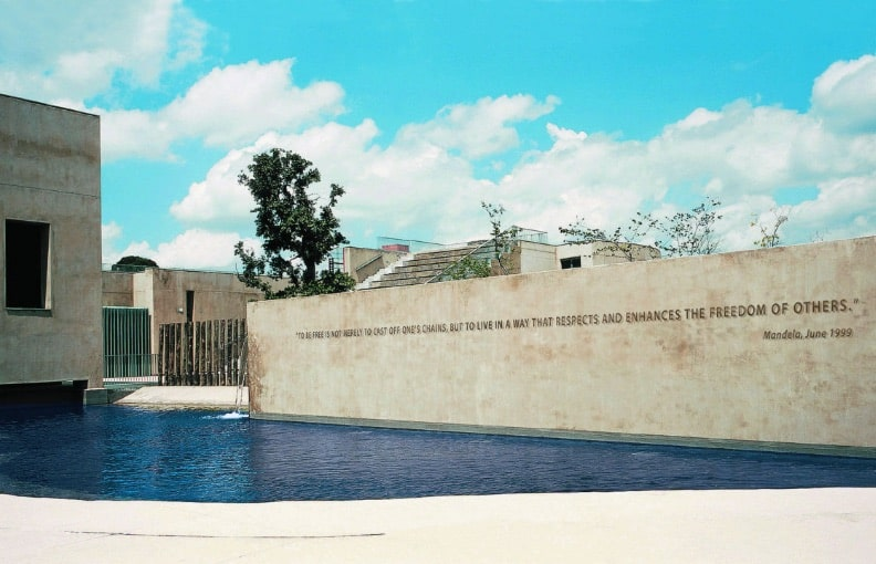 Apartheid Museum At Gold Reef City.