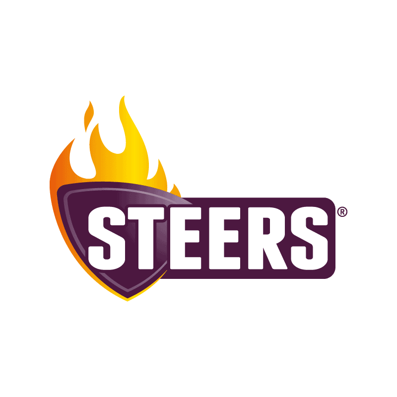 Steers, Gold Reef City. Flame-Grilled Burgers.