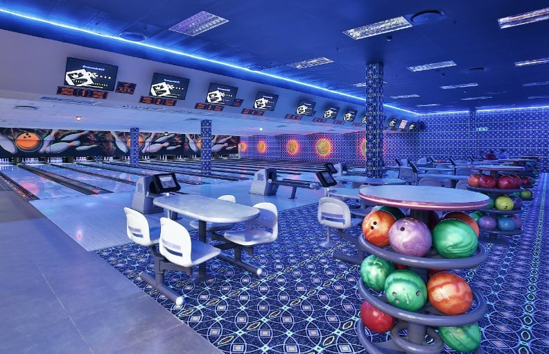 10-Pin Bowling Gold Reef City.