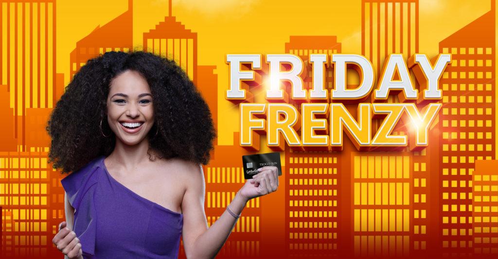 Friday Frenzy gaming promotion