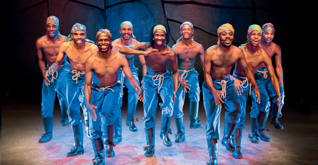 Rhythm - The Gumboots show at The Lyric Theatre